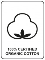 100% Certified Organic Cotton